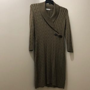 Women's Xl Calvin Klein sweater dress.